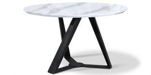 Table à manger ORKID - Effet marbre
