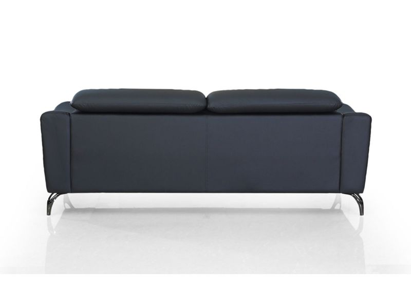 Canapé en cuir 2 places KRYS