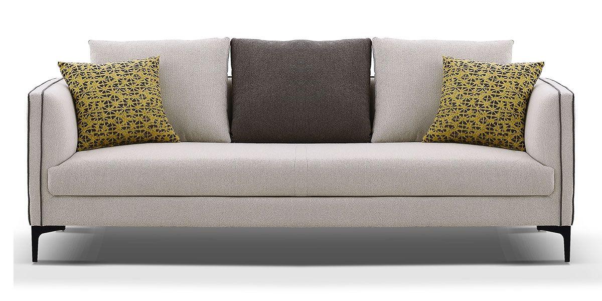 Canapé 2 places en tissu SAMARA - Beige