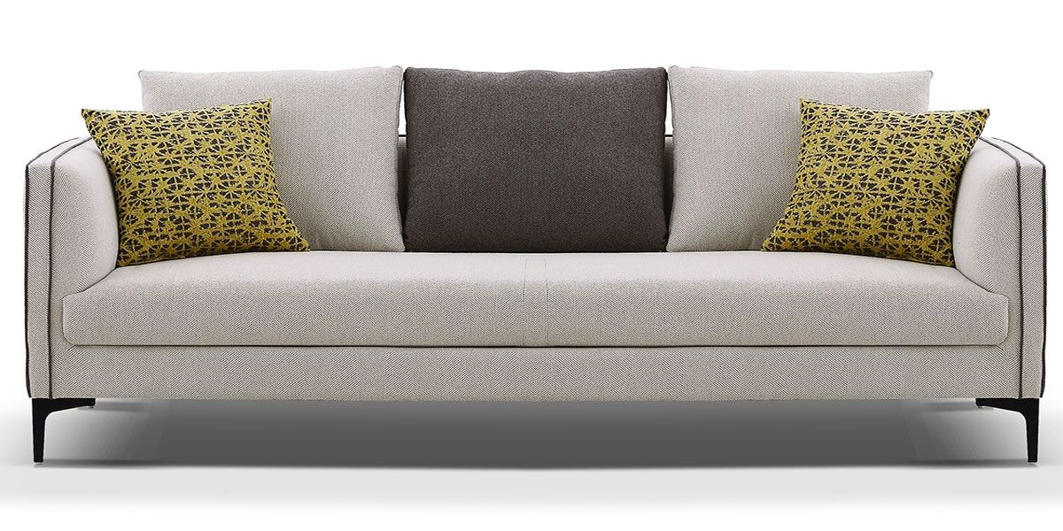 Canapé 3 places en tissu SAMARA - Beige