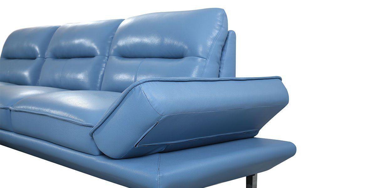 Canapé d'angle en cuir PALMA