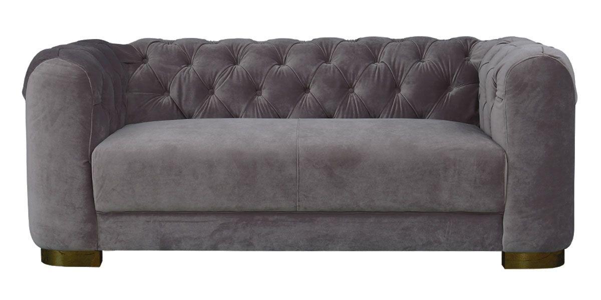 Canapé 3 places en tissu KITSCH