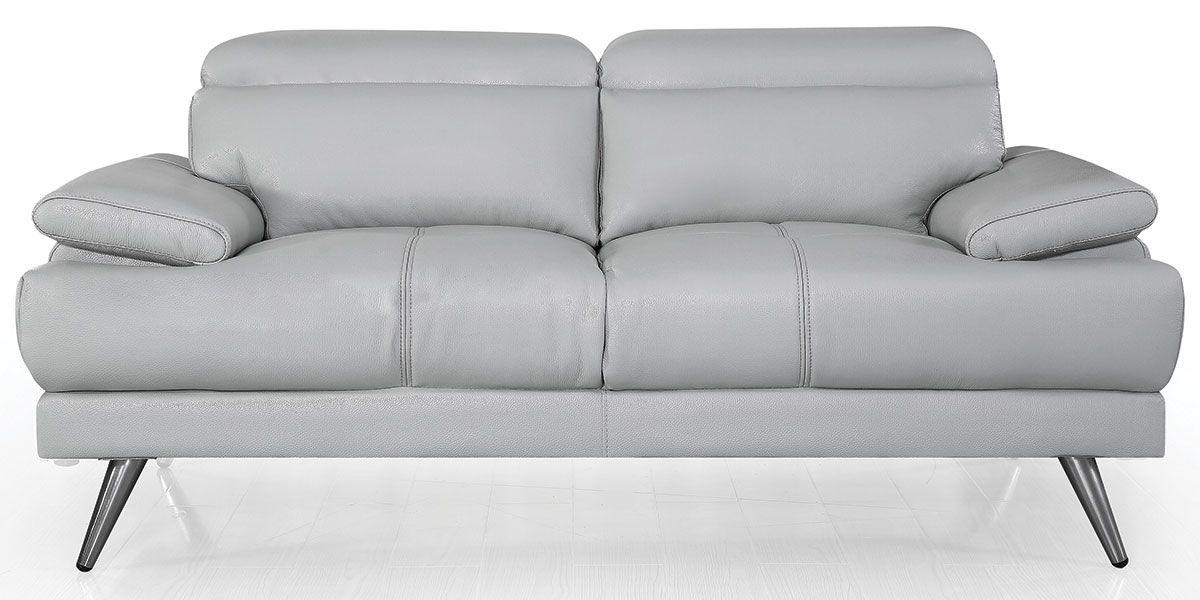 Canapé 2 places Cuir LENA