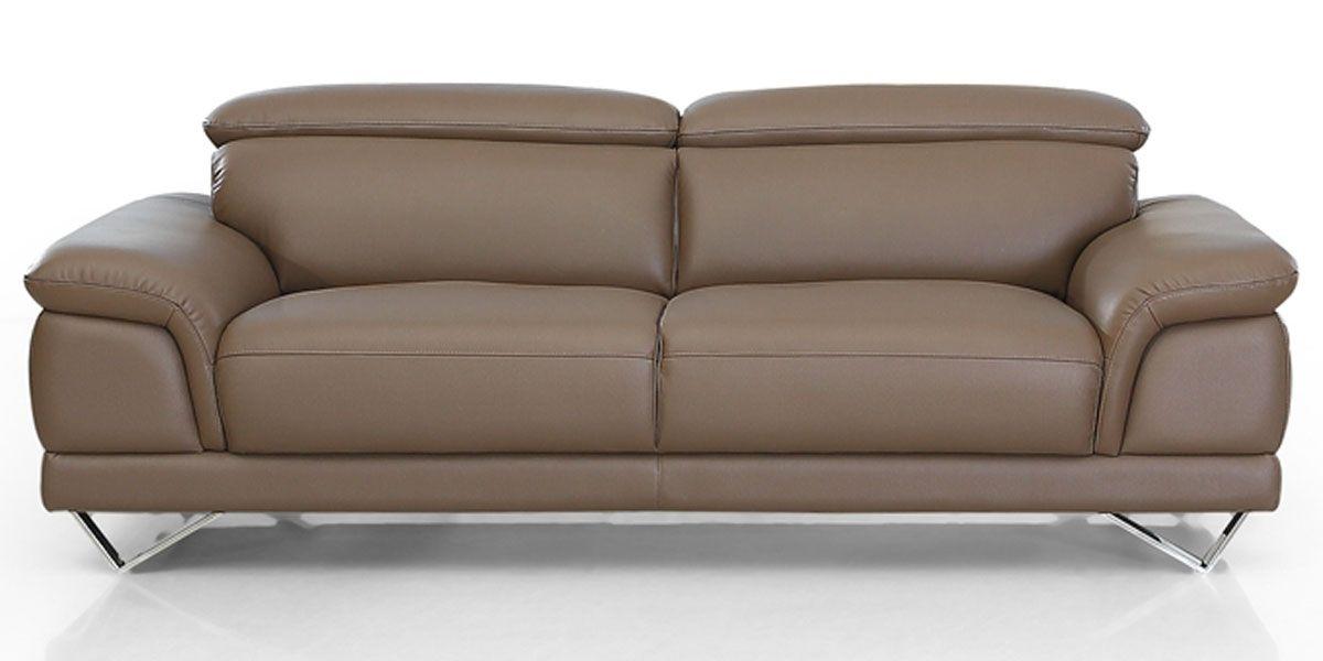Canapé en cuir 3 places BRAME