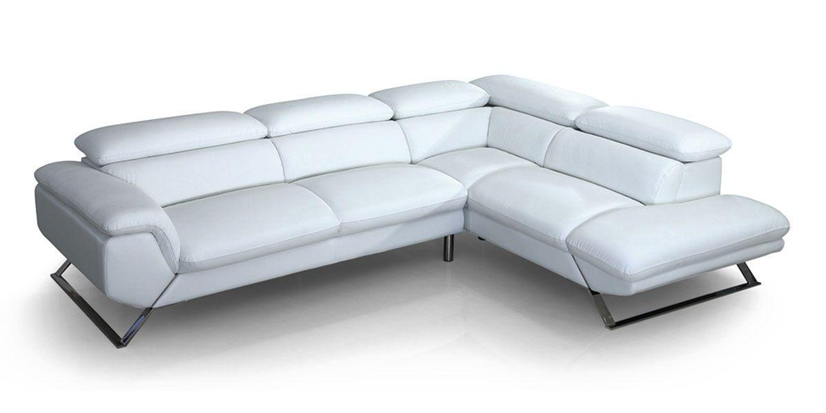 Canapé d'angle en Cuir PANAMA