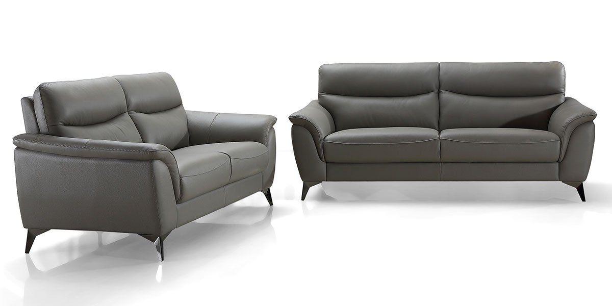 Canapé 3 places en cuir MADRID