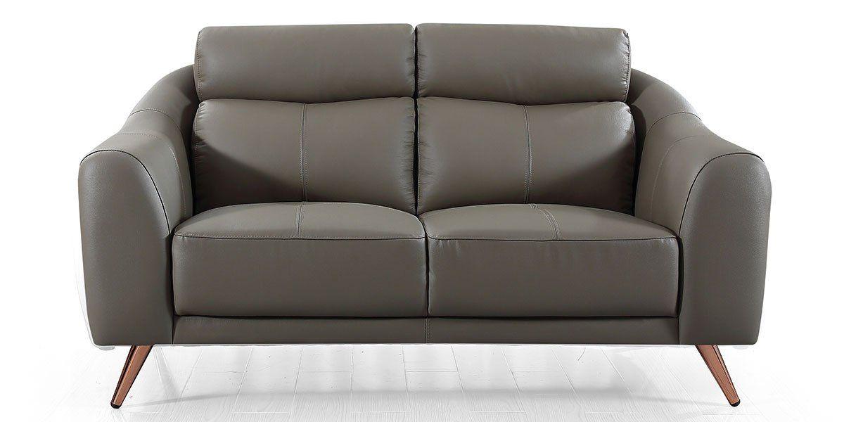 Canapé 2 places en cuir SIANNA