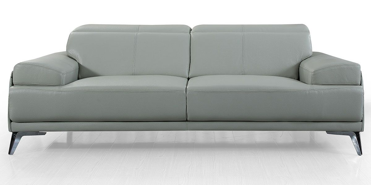 Canapé 3 places en cuir GARLIK