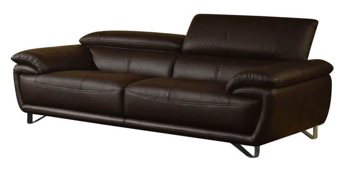 Canapé cuir 3 places BAYA