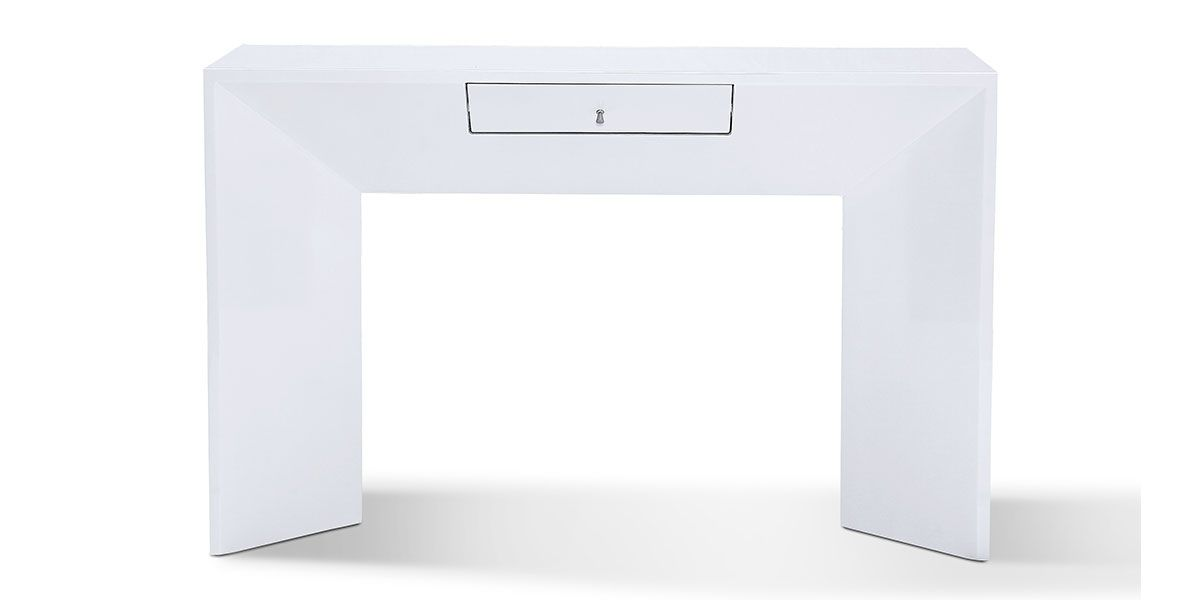 Console laqué VENUS - Blanc