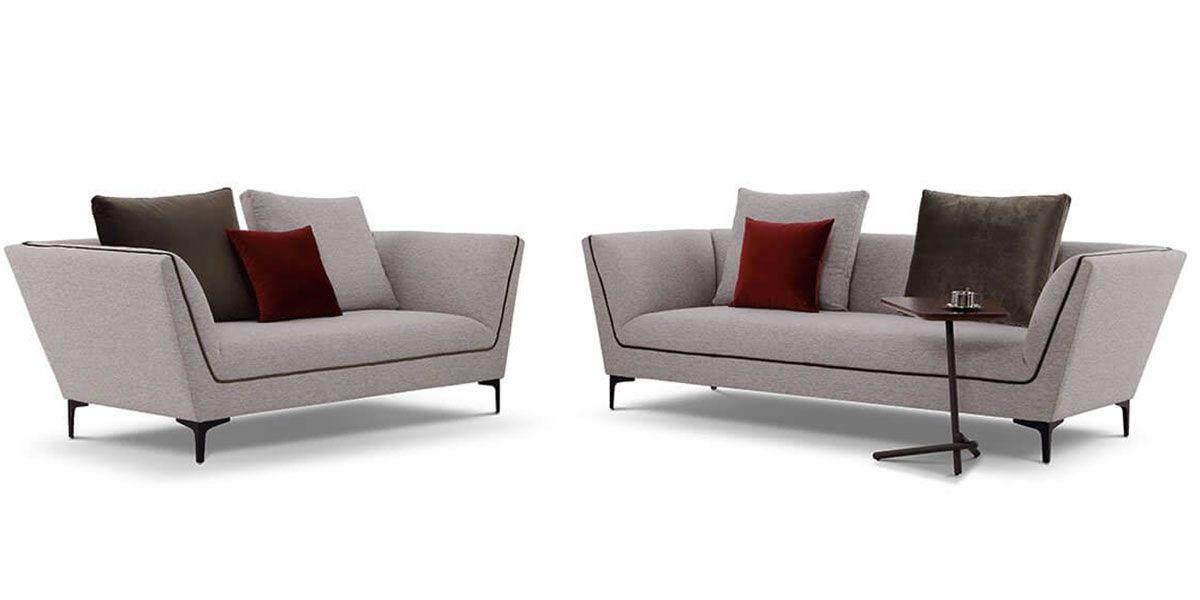 Canapé 3 places en tissu ROSSA