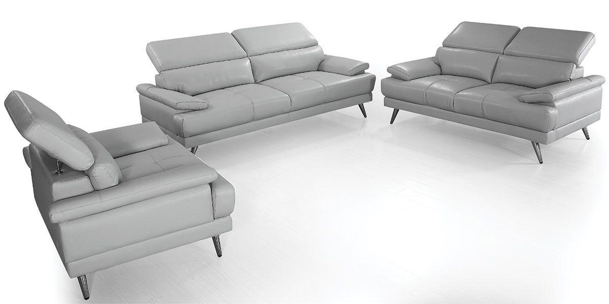 Canapé 3 places Cuir LENA