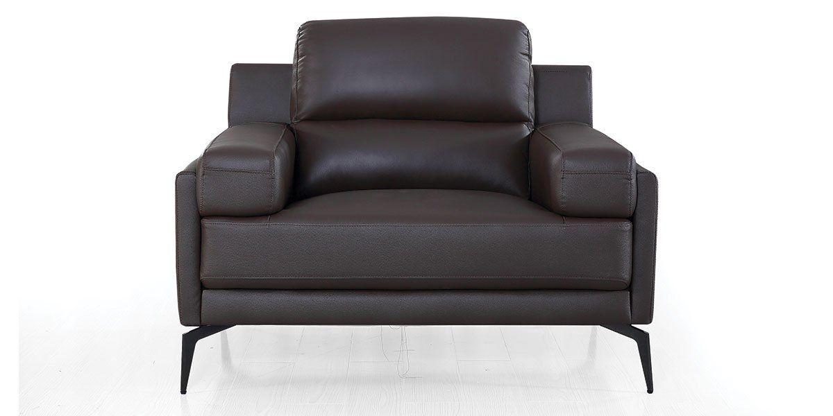 Fauteuil cuir Design MAYRON