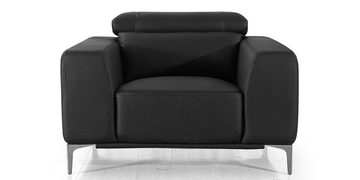 Fauteuil cuir Design NORA