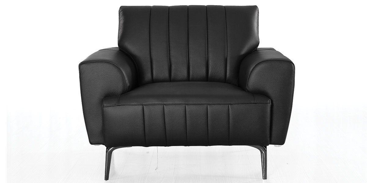 Fauteuil cuir Design ROMY