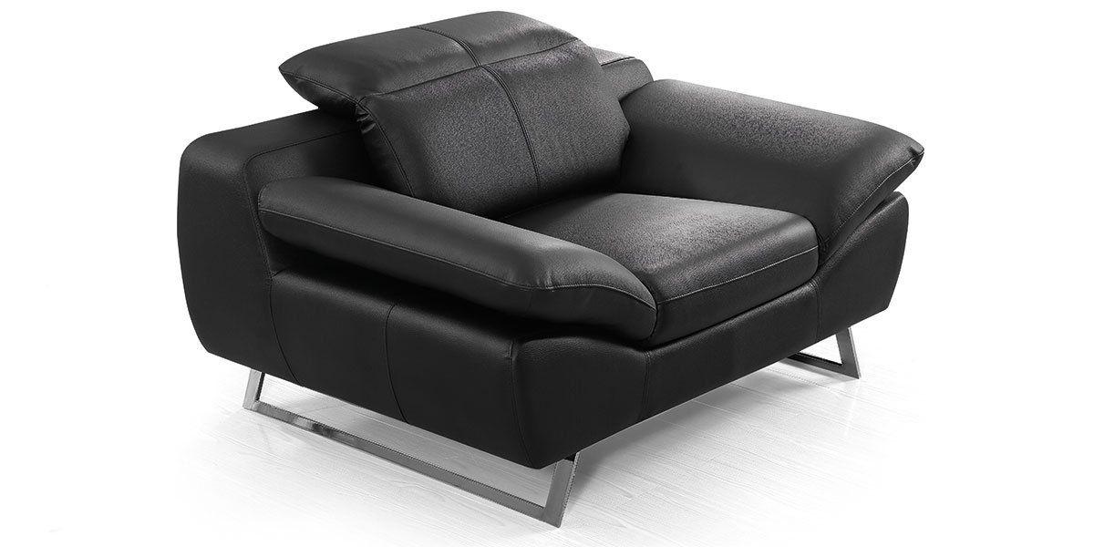 Fauteuil cuir Design SARM