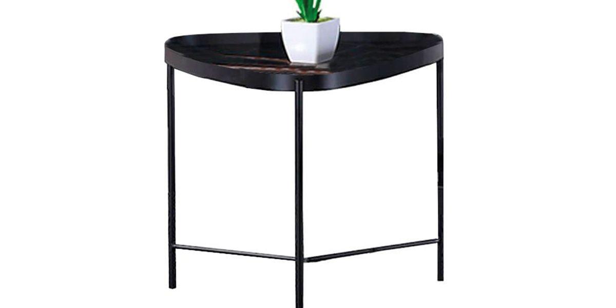 Table d'appoint marbre PINTO - Noir