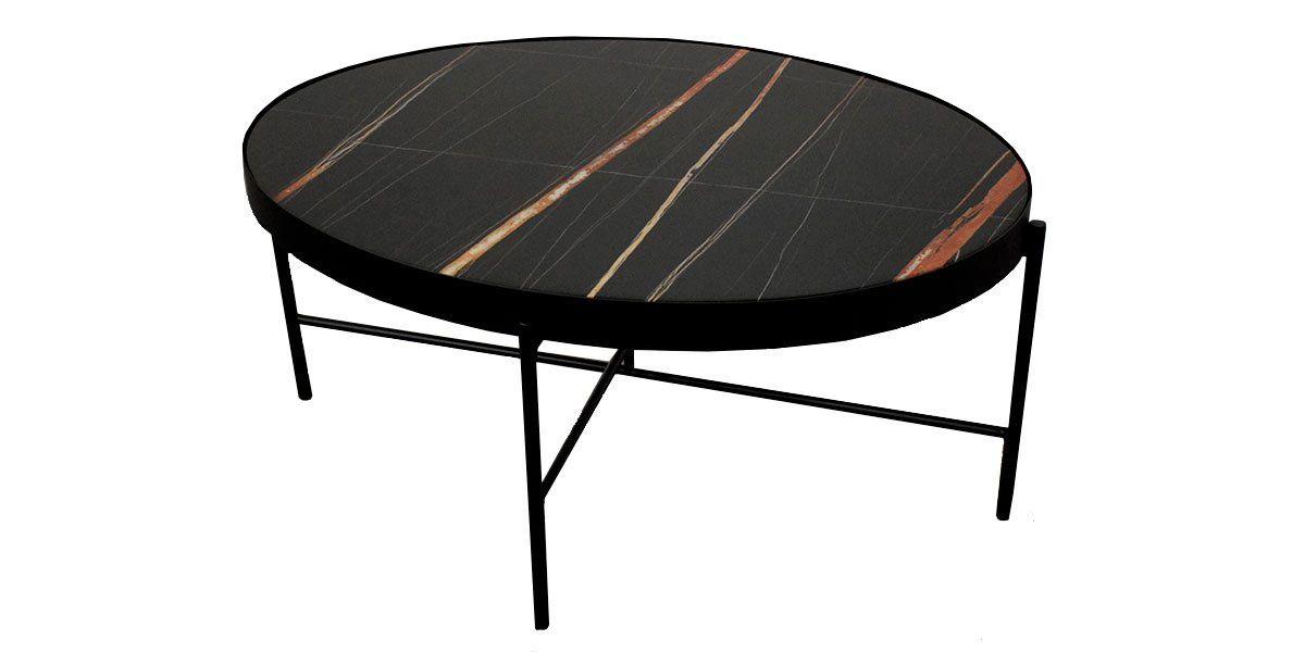 Table basse marbre PINTO - Noir