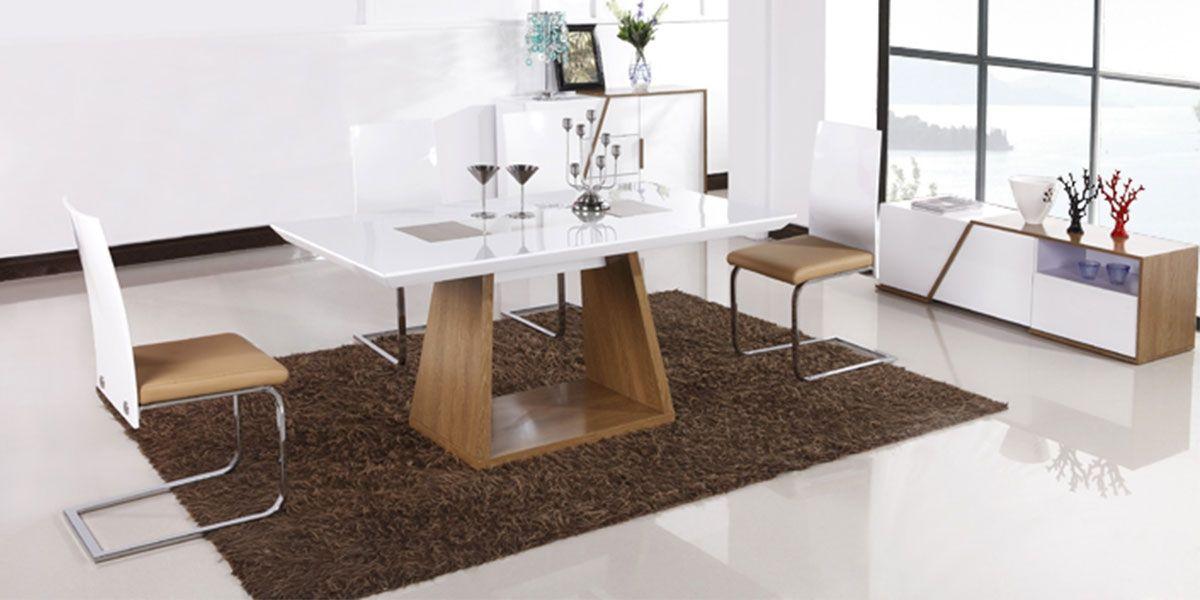 Table à manger bois NUDE - Frêne