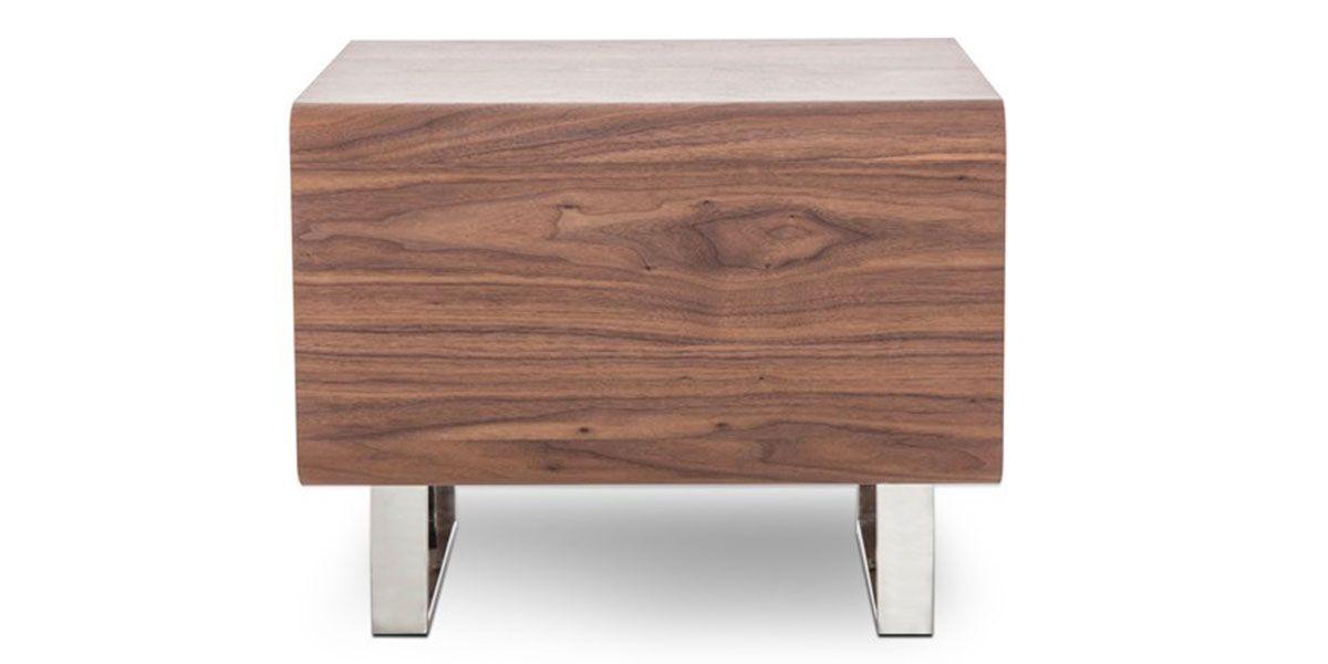 Table d'appoint bois MIA - Noyer