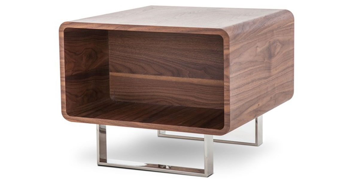 Table d'appoint bois MIA - Noyer