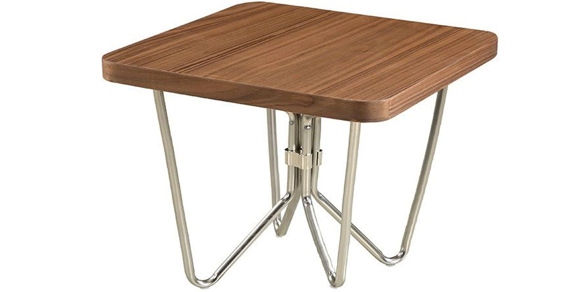 Table basse bois LILO - Noyer