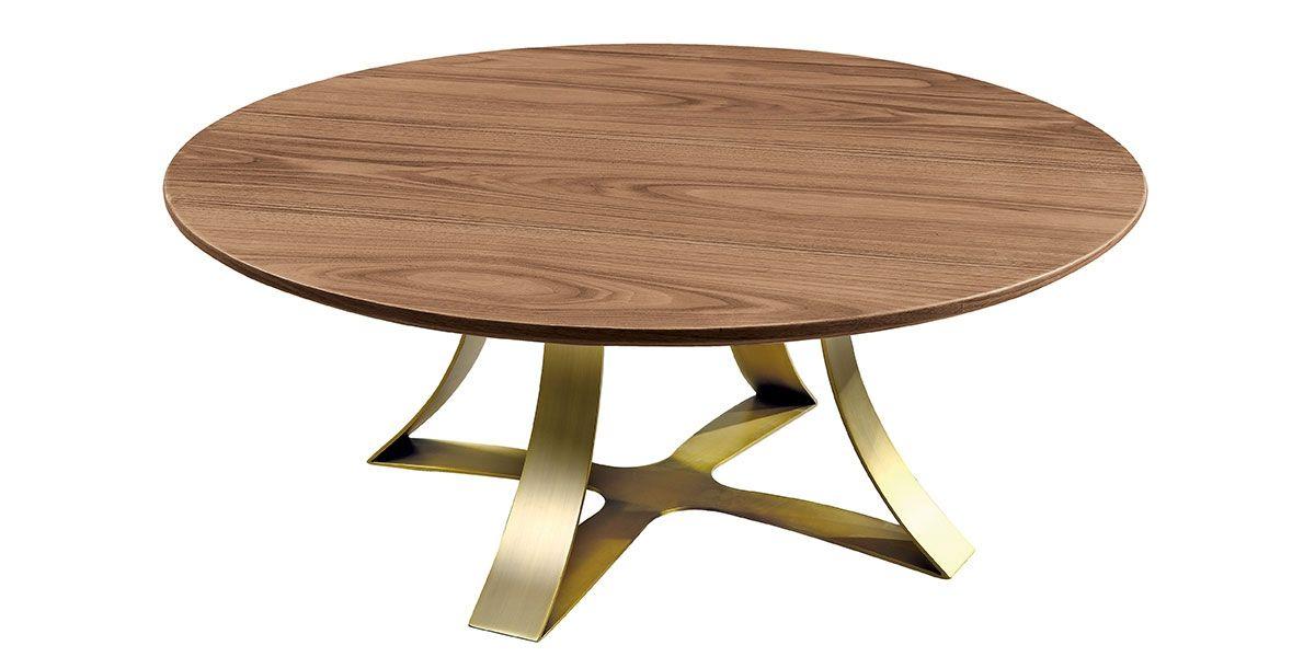 Table basse bois SAND - Noyer