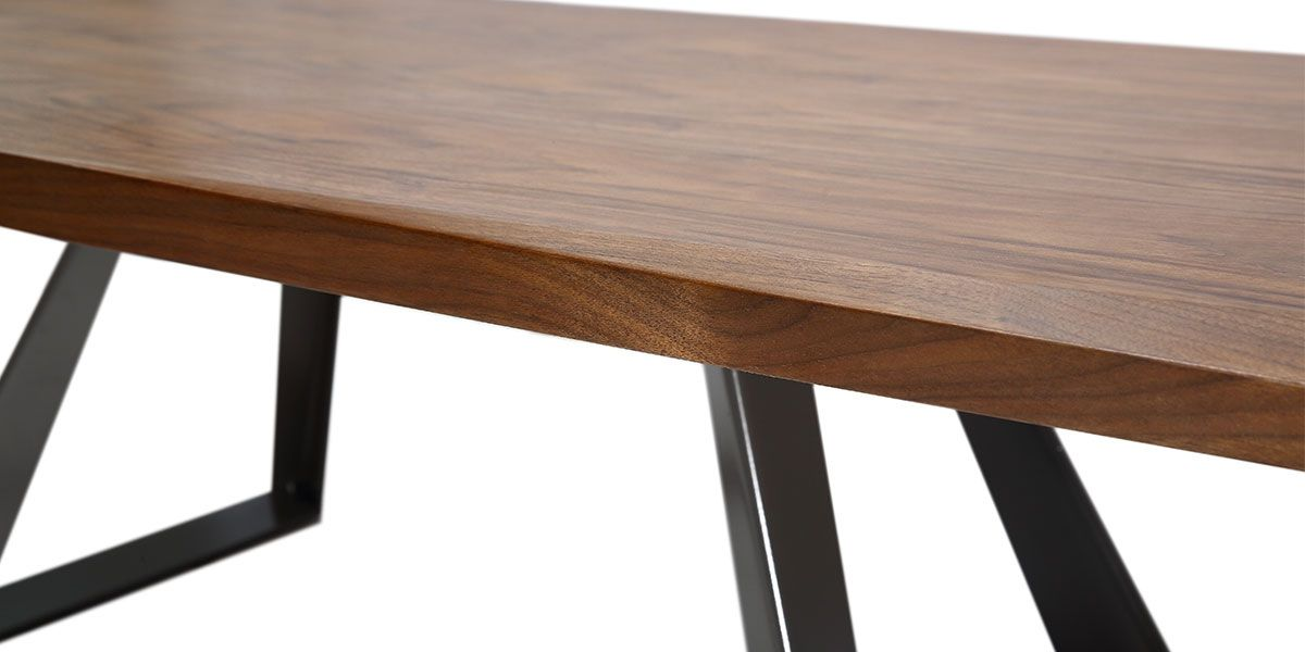 Table basse bois PUNE - Noyer