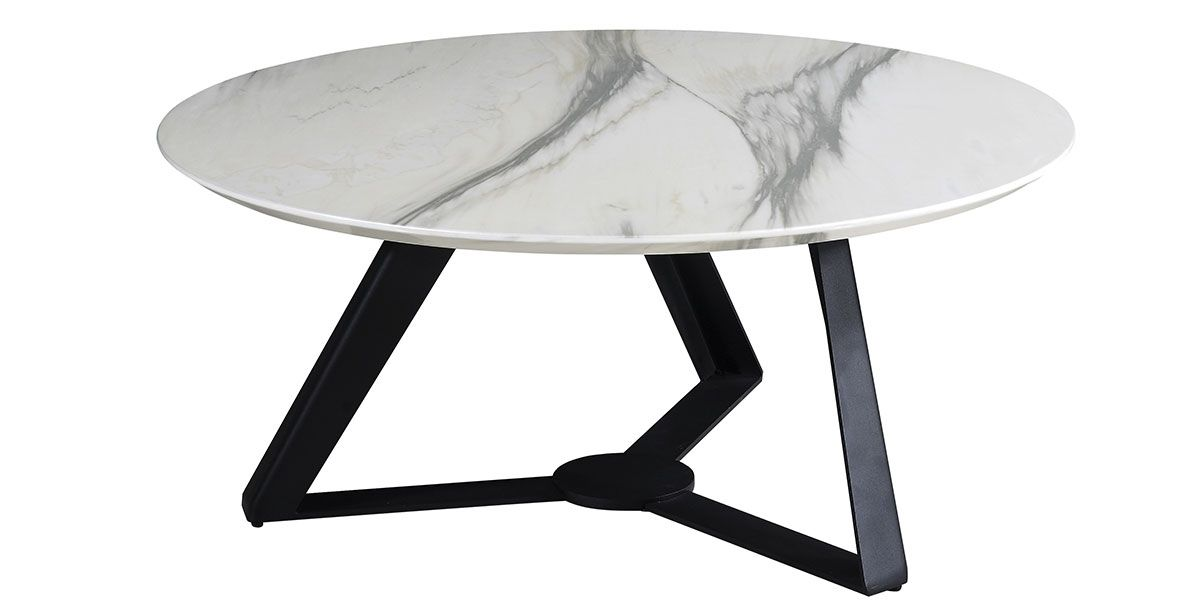 Table basse ORKID - Effet marbre