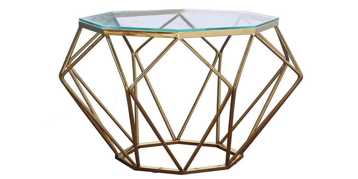 Table basse verre SILLA - Transparent