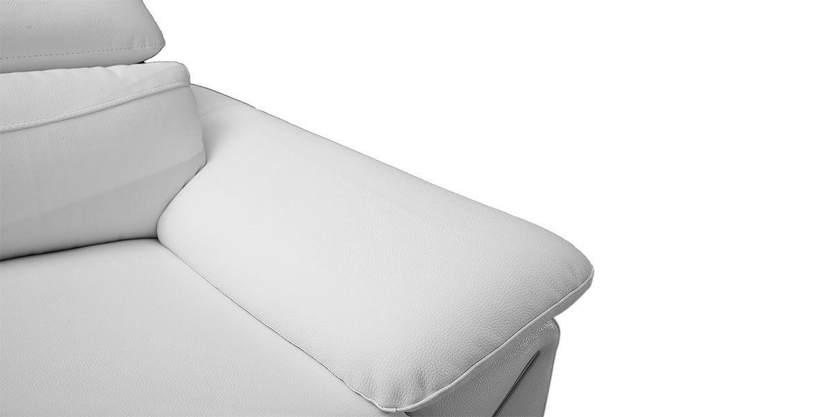 Canapé 3 places en cuir MILAN