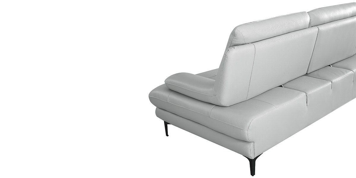 Canapé 3 places Cuir avec dossier avance-recul LYA