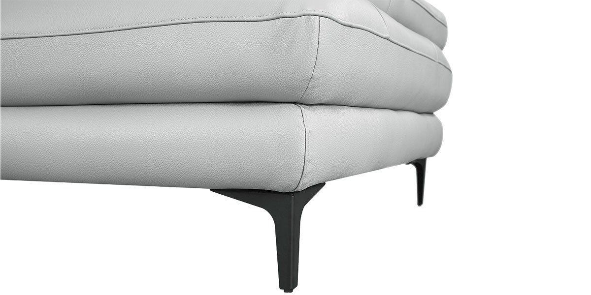 Fauteuil cuir Design avec dossier avance-recul LYA